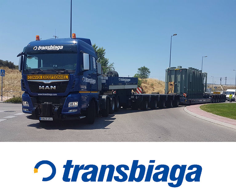 Transporte de mercancia de dimensiones especiales