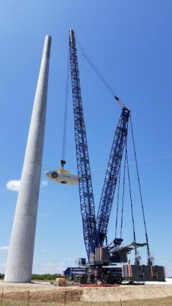 Finalización del parque eólico El Cortijo en México