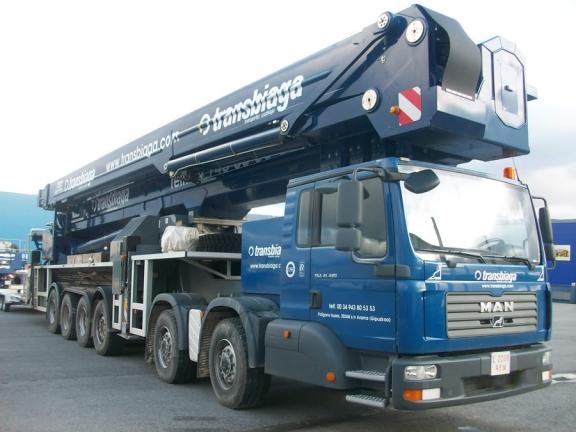 Bronto: el equipo de elevación de mayor capacidad del mundo